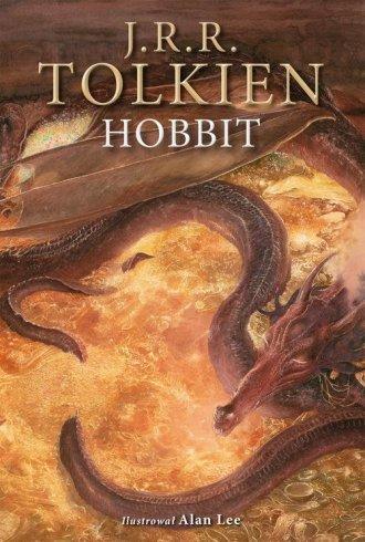 Hobbit. Wersja ilustrowana - okładka książki