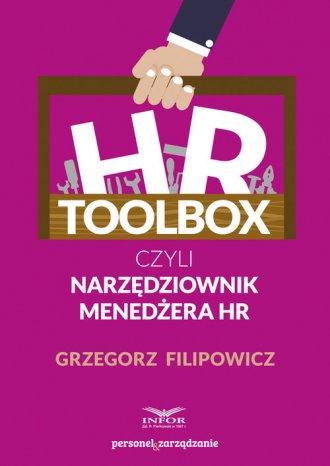 HR Toolbox czyli narzędziownik - okładka książki