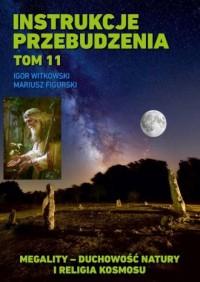 Instrukcje przebudzenia. Tom 11. Megality - duchowość natury i religia kosmosu - okładka książki