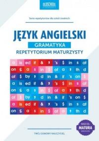 Język angielski. Gramatyka. Repetytorium maturzysty. CEL: MATURA - okładka podręcznika