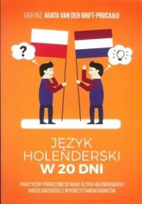 Język holenderski w 20 dni - okładka podręcznika