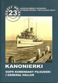 Kanonierki. OOPR Komendant Piłsudski - okładka książki