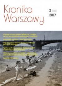 Kronika Warszawy 2(156)2017 - okładka książki