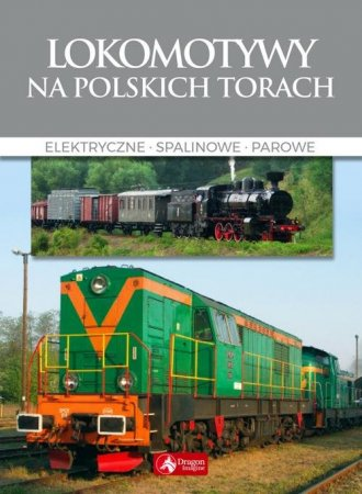 Lokomotywy na polskich torach - okładka książki