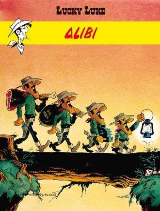 Lucky Luke. Alibi - okładka książki