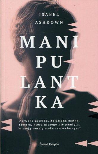 Manipulantka - okładka książki