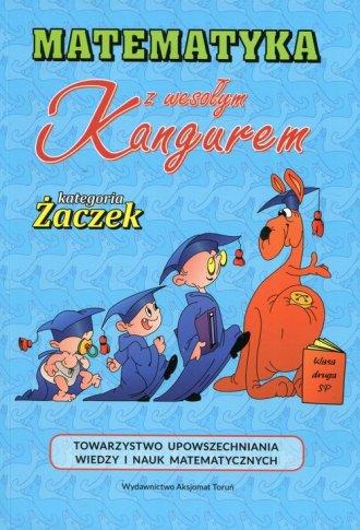 Matematyka z wesołym kangurem - - okładka podręcznika