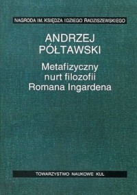 Metafizyczny nurt filozofii Romana - okładka książki