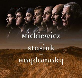 Mickiewicz Stasiuk Haydamaky - okładka płyty