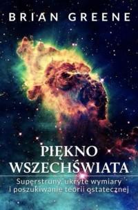 Piękno wszechświata - okładka książki