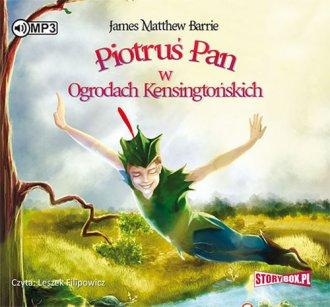 Piotruś Pan w Ogrodach Kensingtońskich - pudełko audiobooku