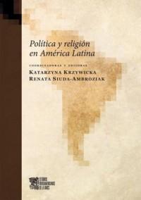 Politica y religion en America Latina - okładka książki