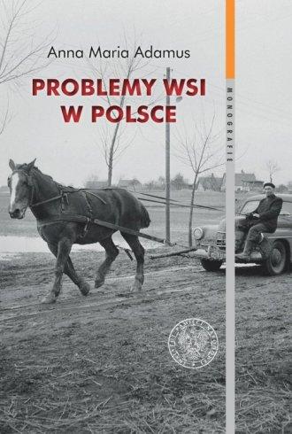 Problemy wsi w Polsce w latach - okładka książki