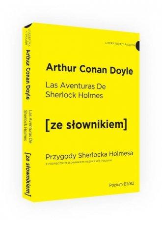 Przygody Sherlocka Holmesa - okładka podręcznika