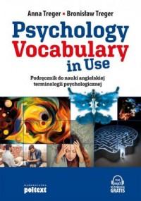 Psychology Vocabulary in Use. Podręcznik do nauki angielskiej terminologii  psychologicznej - okładka podręcznika
