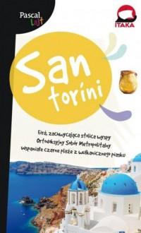 Santorini.Pascal Lajt - okładka książki