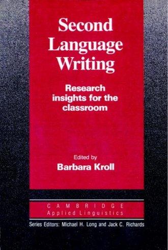 Second Language Writing. Research - okładka podręcznika