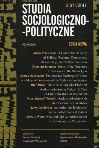 Studia Socjologiczno-Polityczne - okładka książki