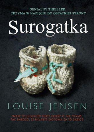 Surogatka - okładka książki