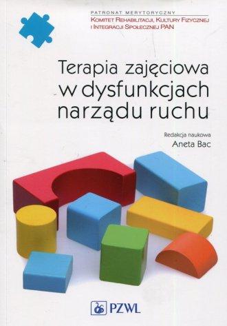 Terapia zajęciowa w dysfunkcjach - okładka książki
