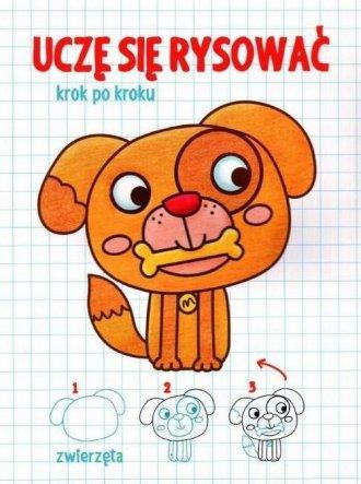 Uczę się rysować. Zwierzęta - okładka książki