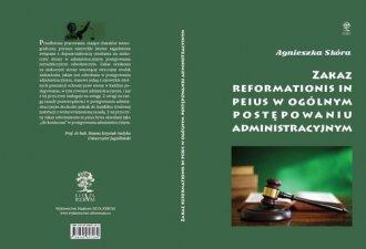 Zakaz reformationis in peius w - okładka książki
