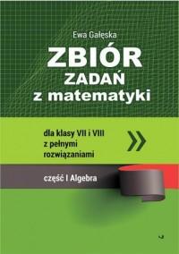 Zbiór zadań z matematyki z pełnymi - okładka podręcznika