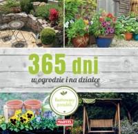 365 dni w ogrodzie i na działce - okładka książki