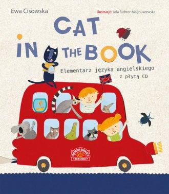 Cat in the Book. Elementarz języka - okładka podręcznika