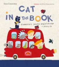 Cat in the Book. Elementarz języka angielskiego z płytą CD - okładka książki