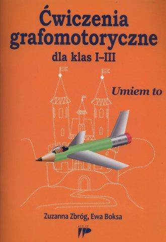 Ćwiczenia grafomotoryczne dla klas - okładka podręcznika