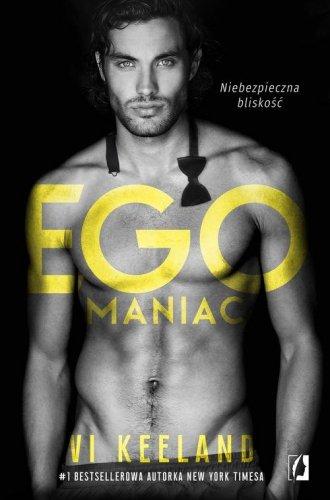 Egomaniac - okładka książki