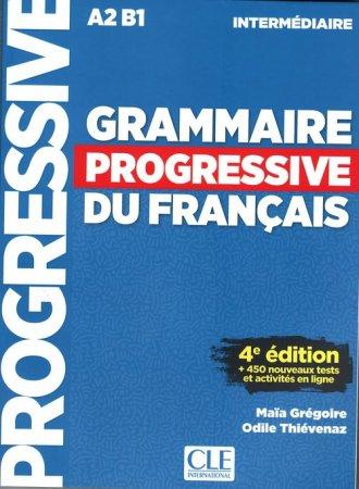 Grammaire progressive niveau interme.A2 - okładka podręcznika
