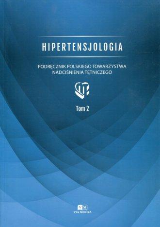Hipertensjologia. Tom 2. Podręcznik - okładka książki