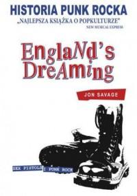 Historia Punk Rocka Englands Dreaming - okładka książki