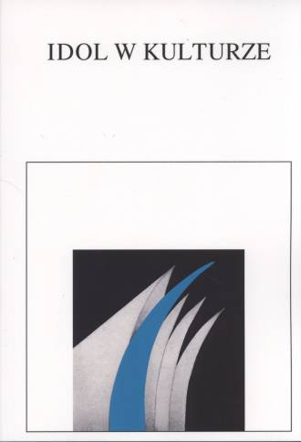 Idol w kulturze - okładka książki