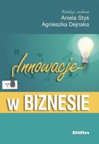 Innowacje w biznesie - okładka książki