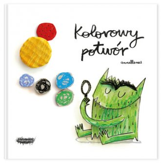 Kolorowy potwór - okładka książki