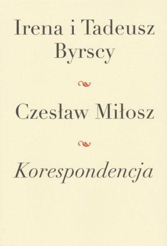 Korespondencja. Irena i Tadeusz - okładka książki