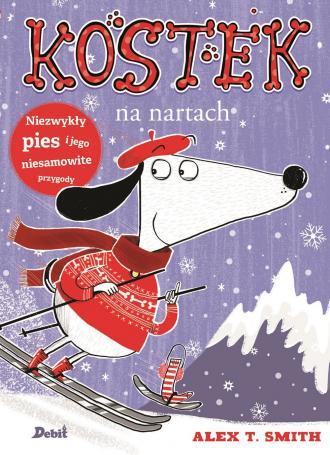 Kostek na nartach - okładka książki