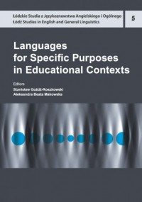 Languages for Specific Purposes in Educational Contexts - okładka książki