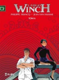 Largo Winch. Tom 6. Wydanie zbiorcze - okładka książki