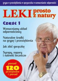 Leki prosto z natury - okładka książki