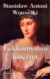 Lekkomyślna księżna - okładka książki