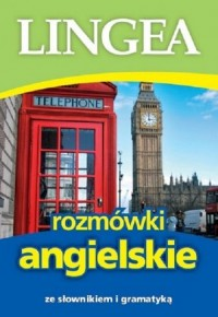 Lingea rozmówki angielskie. ze słownikiem i gramatyką - okładka podręcznika