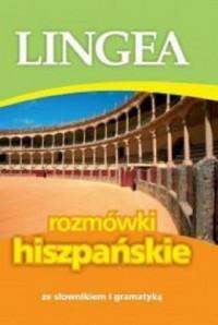 Lingea rozmówki hiszpańskie. ze słownikiem i gramatyką - okładka podręcznika