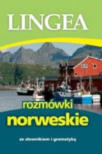 Lingea rozmówki norweskie. ze słownikiem i gramatyką - okładka podręcznika