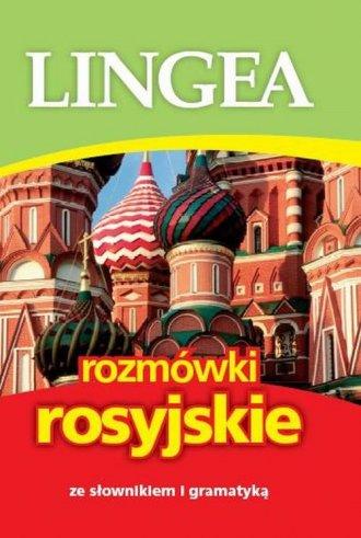 Lingea rozmówki rosyjskie. ze słownikiem - okładka podręcznika