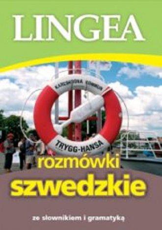 Lingea rozmówki szwedzkie. ze słownikiem - okładka podręcznika