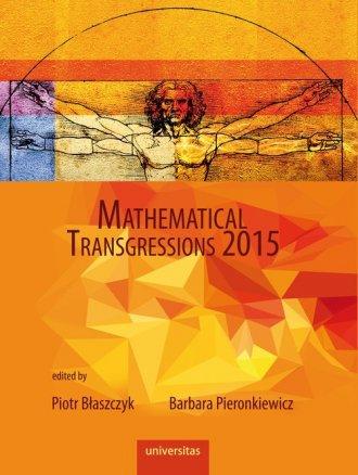 Mathematical Transgressions 2015 - okładka książki